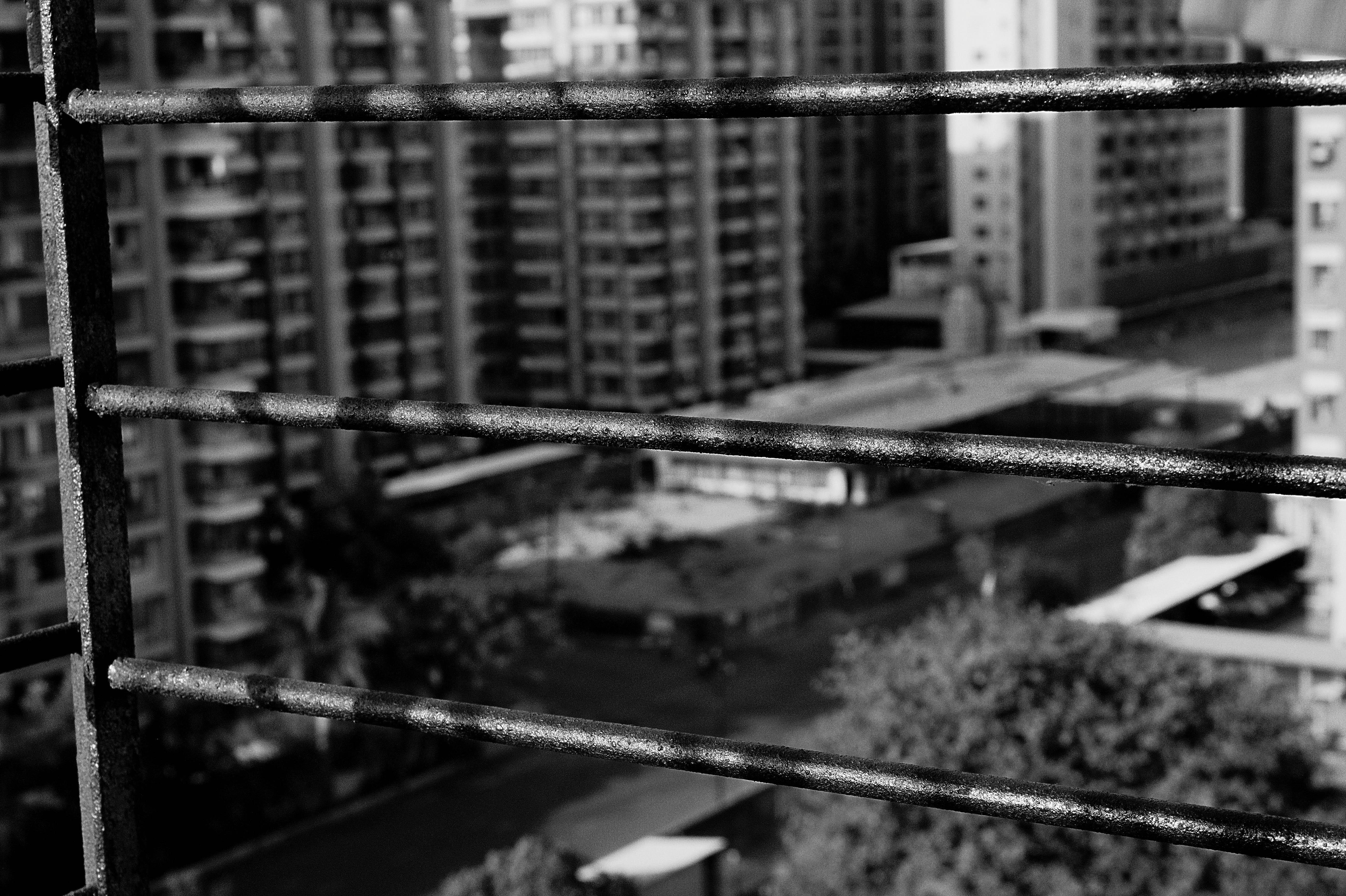 "COVID-19 SERIES, V.  ""Windows feel like a prison; wish we could go outside"", Gujarat, India, 2020."