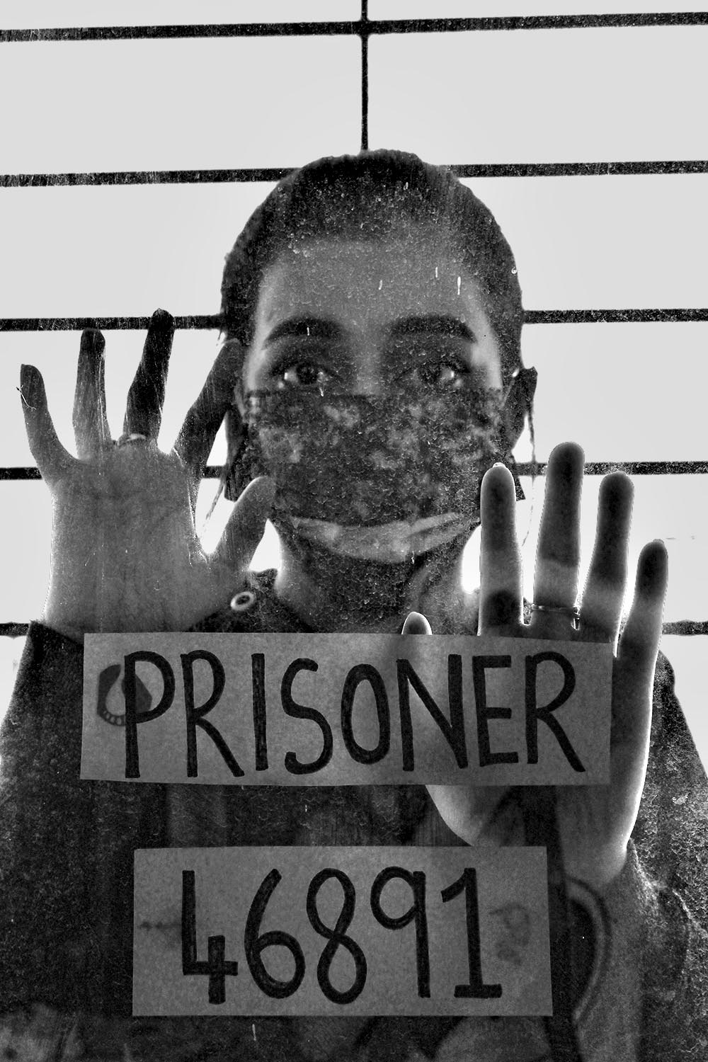 """COVID-19 SERIES, X.  """"Trying to break free from this prison we call home"""", Gujarat, India, 2020."""